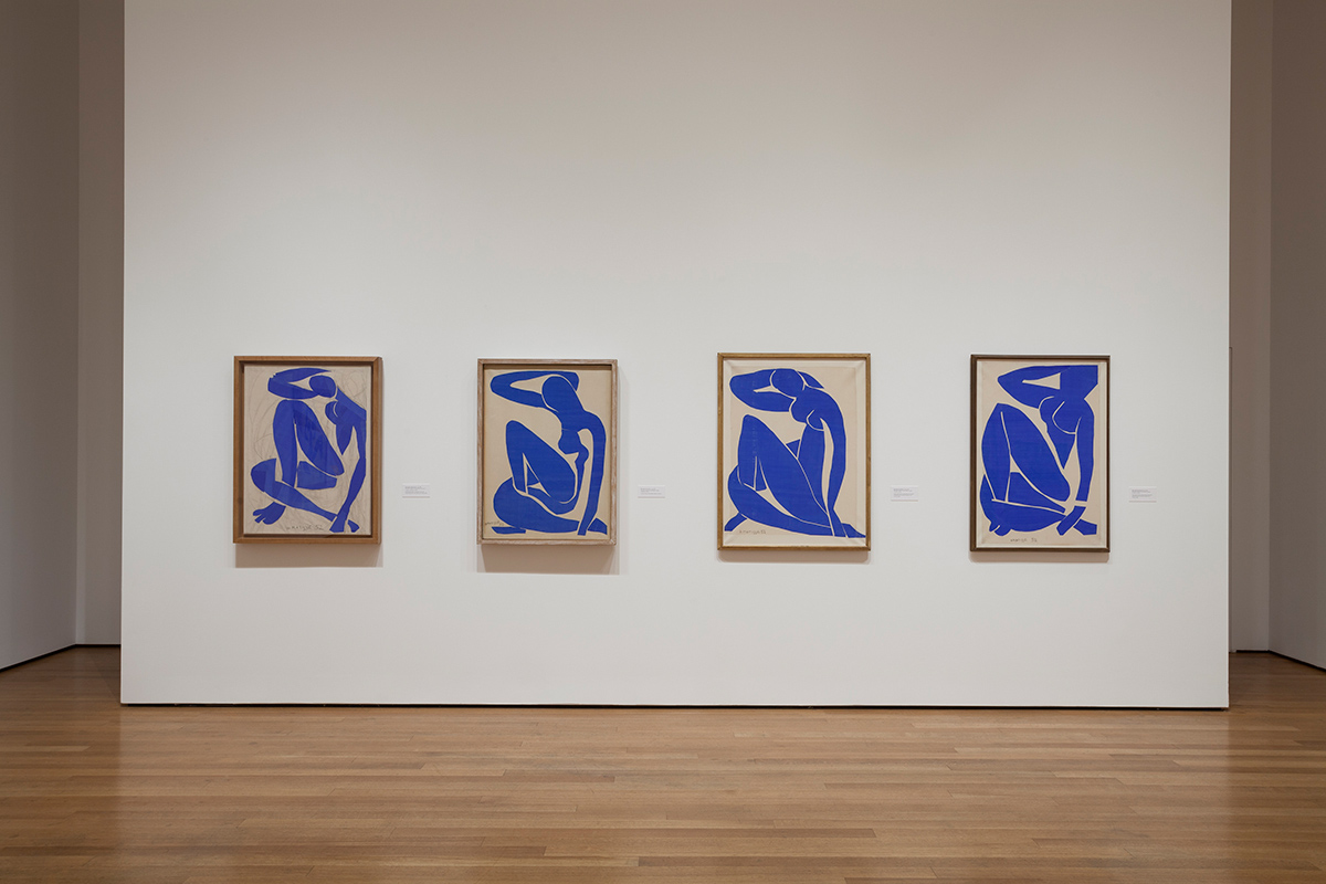 Matisse Cut-Outs, MoMA, 2014