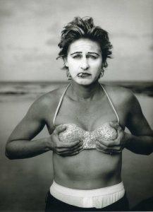 Ellen DeGeneres, Kauai, Hawaii, 1997 by Annie Leibovitz .