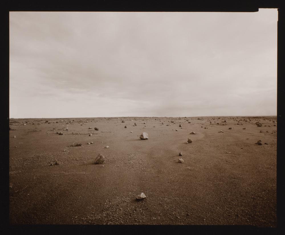 Linda Connor, Stones, Kau Desert, Hawaii, 1991, gelatin silver print