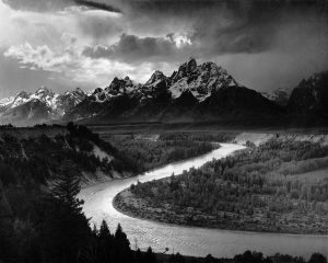 The Tetons and the Snake River, by Ansel Adams